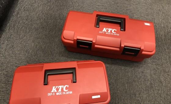 微妙な大きさの差がミソなんですKTCの工具箱