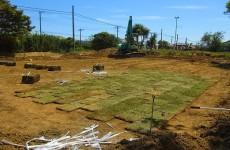 ガーデン~初めての芝張り~