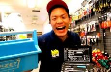 HAZET(ハゼット)【2014.12.25】ファクトリーギアなんば店