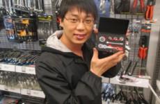 コンパクトな携帯工具は男のロマン!【2015.4.17】ファクトリーギアなんば店
