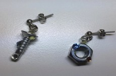 【女子目線工具】<手作りアクセサリー> 本物の工具をピアスにしちゃおう!