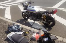 『HANAとバイク(CB750F)』【第5話】ツーリングに行こうとしました…