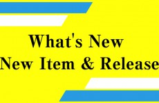 【What's New】New Item & Release
