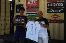 津田大毅さん自転車で日本一周の旅!高崎・広島レポート!