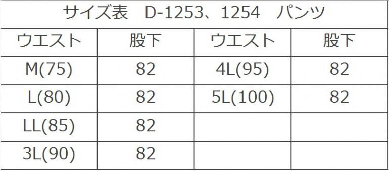 D-1253.1254SIZE