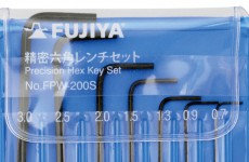 【Restocked】FUJIYA Precision Hex Key Set