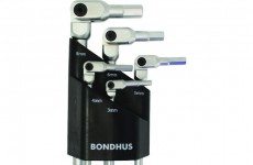 【NEW】BONDHUS  HEX PRO Pivot Head Hex Set