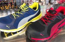 スポーツブランドならではの安全靴