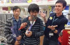 一度掴んだら放しません!!【2014.10.25】ファクトリーギア札幌店