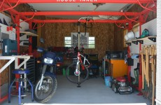 組み立て型ガレージ「ハウスインナー」