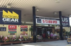 本日オープンです!!【2015.09.13】ファクトリーギア広島店