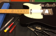 ギター弦交換・調整
