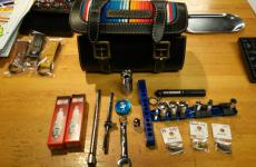 VIBESで掲載されたハーレー携行工具セット