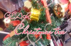 GEAR Christmas tree!