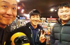 大阪からご来店ありがとうございます
