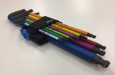 【New Arrival】Multicolour Hex Key Set with Holding Function