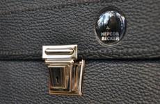 【New Arrived 】HEPCO & BECKER Leather Shoulder Bag
