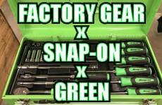"""""""FG"""" x """"SNAP-ON"""" x """"GREEN"""" = !?"""