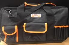 バーコのジッパー付きオープンバッグ!