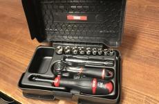 【新規取扱商品】USAG ABS樹脂ケース入り1/4sqラチェットセット