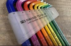 【数量限定】PB SWISS TOOLS 140周年記念 ロングレインボーレンチセット