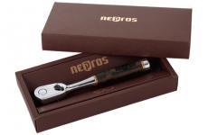 nepros3/8SQ木柄ラチェット「黒壇」在庫有り。