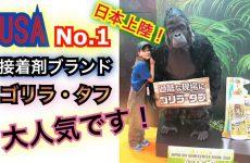 USA No.1接着剤ブランド GORILLA ゴリラタフがすごい!